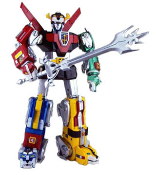 voltron toy