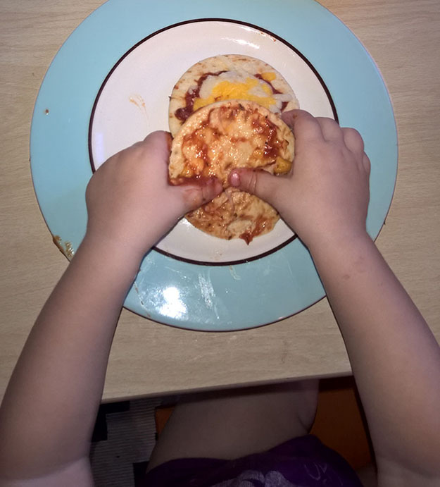 halloween lunchables pizzas