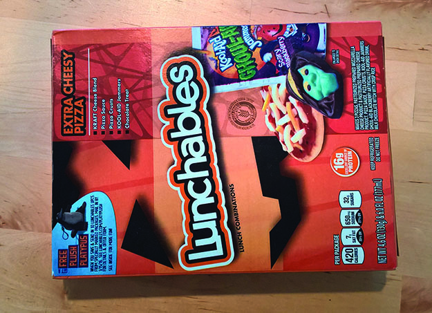 halloween lunchables box