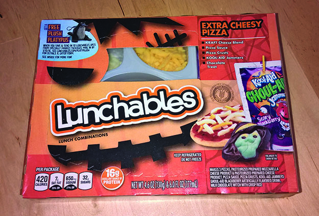 halloween lunchables 2015
