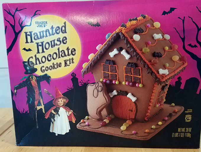 haunted house cookie TJs