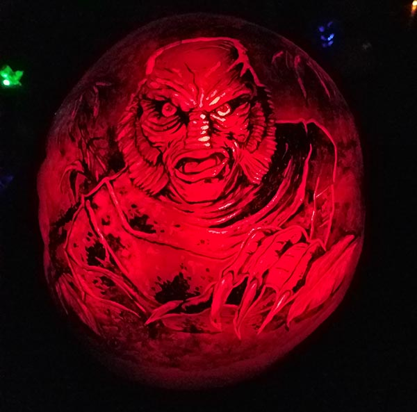 black lagoon pumpkin