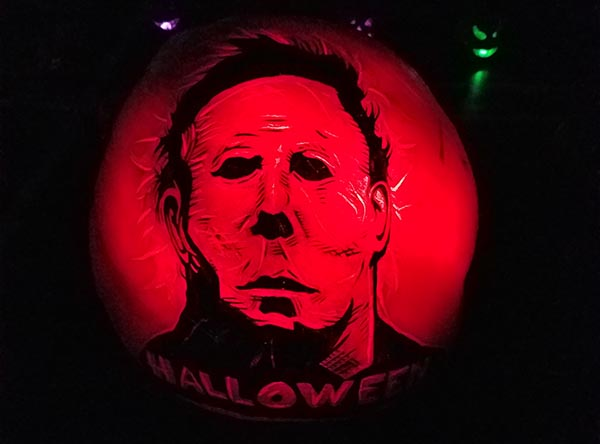 michael meyers pumpkin