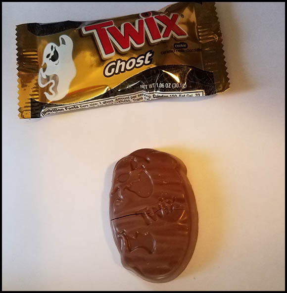 twix halloween ghosts