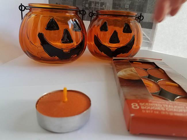 jack o lantern candle holders
