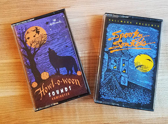 hallmark spooky sounds howloween tapes