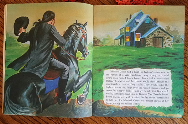 headless horseman book record