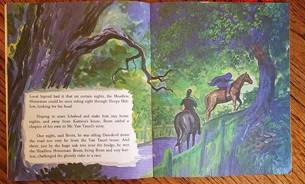 headless horseman book irving