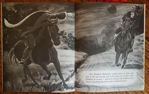 headless horseman book read along