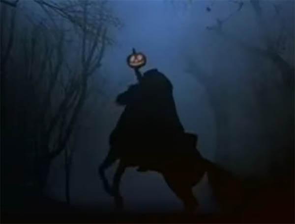 headless horseman tim burton