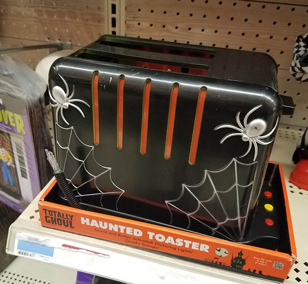 kmart haunted toaster