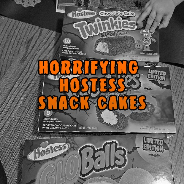 hostess halloween snacks
