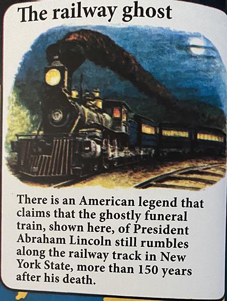 lincoln ghost train