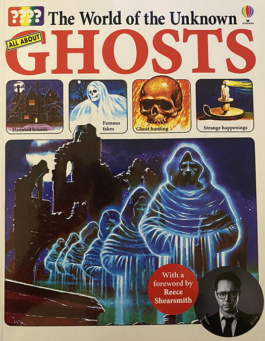 world of the unknown- ghosts book