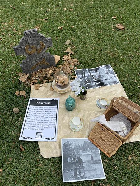 cemetery picnic