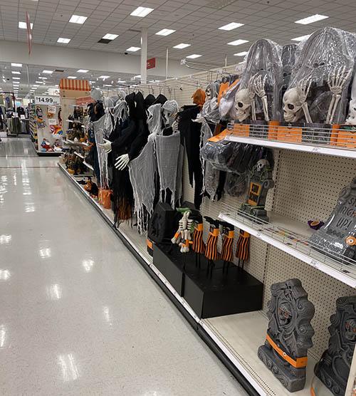 halloween at target