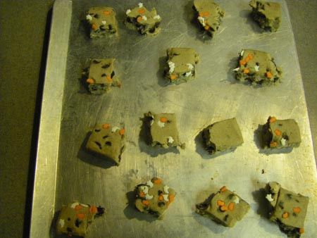 halloween brick of cookie dough
