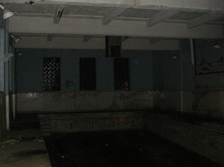 old swimming pool creepy