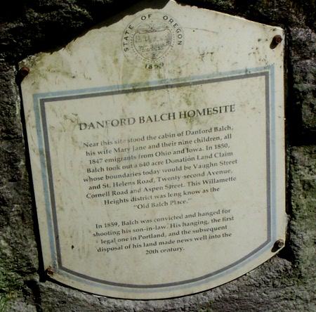 balch historical marker