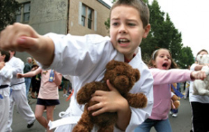 karate teddy bear parade