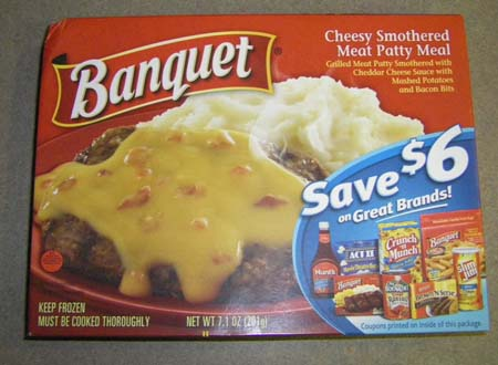 banquet frozen meal