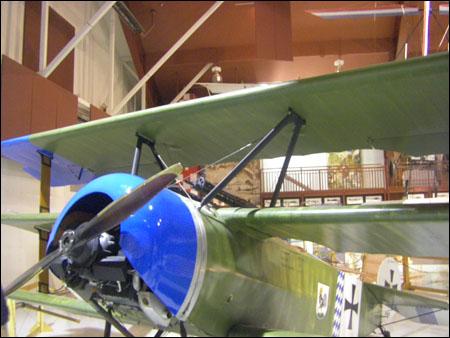 red baron's plane