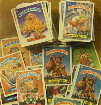garbage pail kids collection