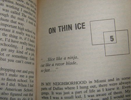 vanilla ice book