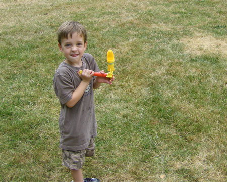 water rocket safety