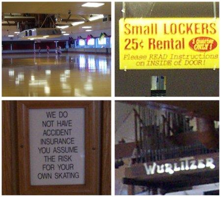 oaks park roller rink